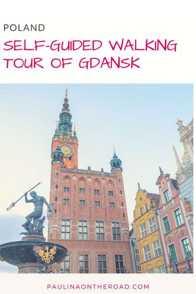 See all the best of beautiful Gdansk in one day with this Free Walking tour of Gdansk, Poland! #gdansk #poland #pomerania #walkingtour #marina #stmarybasilica #museums #maritime #food #neptunefoundtain