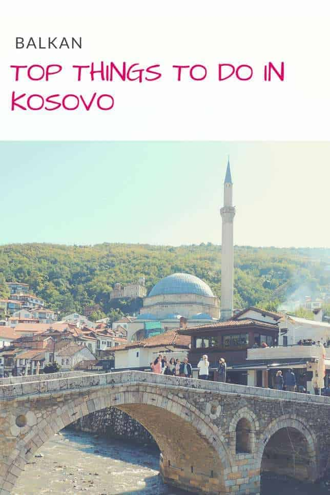 What to do in Kosovo? A selection of best things to do and places to visit in Kosovo in a 3 Day Travel Itinerary including Pristina, Peja & Prizren | Map + Hotels #kosovo #pristina #balkan #prizren