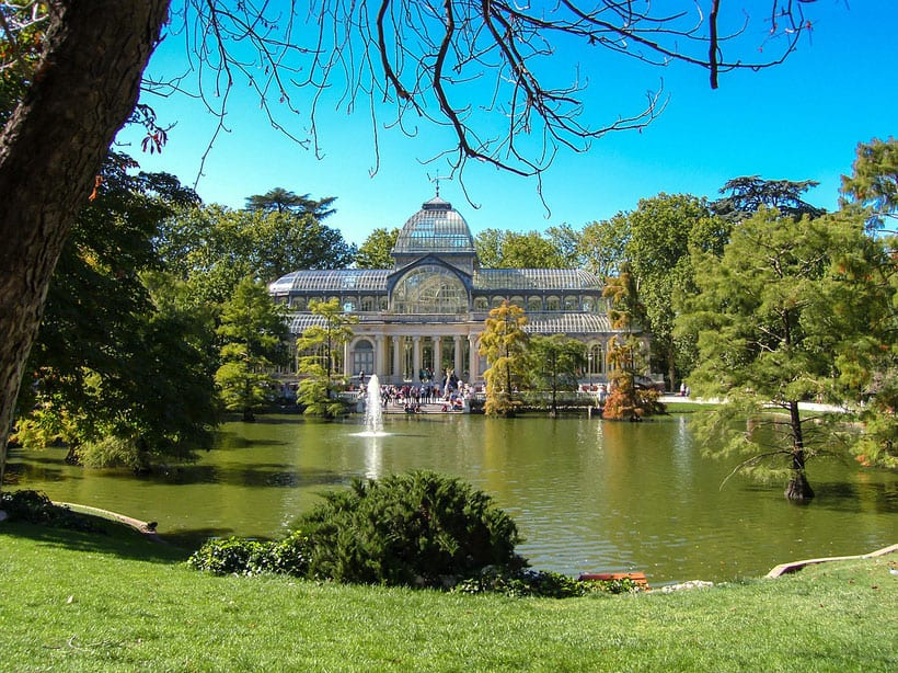 Retiro Park, best area to stay madrid, where to stay in madrid spain