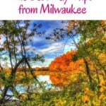 Let's go on a road trip in Wisconsin! Discover the best day trips from Milwaukee. Let's enjoy the natural beauty of Wisconsin by doing an excursion from Milwaukee, Wisconsin. This post provides a selection of the best (weekend) getaways form Milwaukee including restaurants, where to stay and hiking trails. #milwaukee #wisconsin