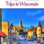 Discover the Best Weekend Trips in Wisconsin. Including day trips from Milwaukee and Madison. Read on where to go on a weekend getaway in Wisconsin for hiking, lake cabins, outdoor fun. But also lovely city trips and lake side trips to Wisconsin Dells. Find information on where to stay and where to eat during your weekend excursion in Wisconsin
