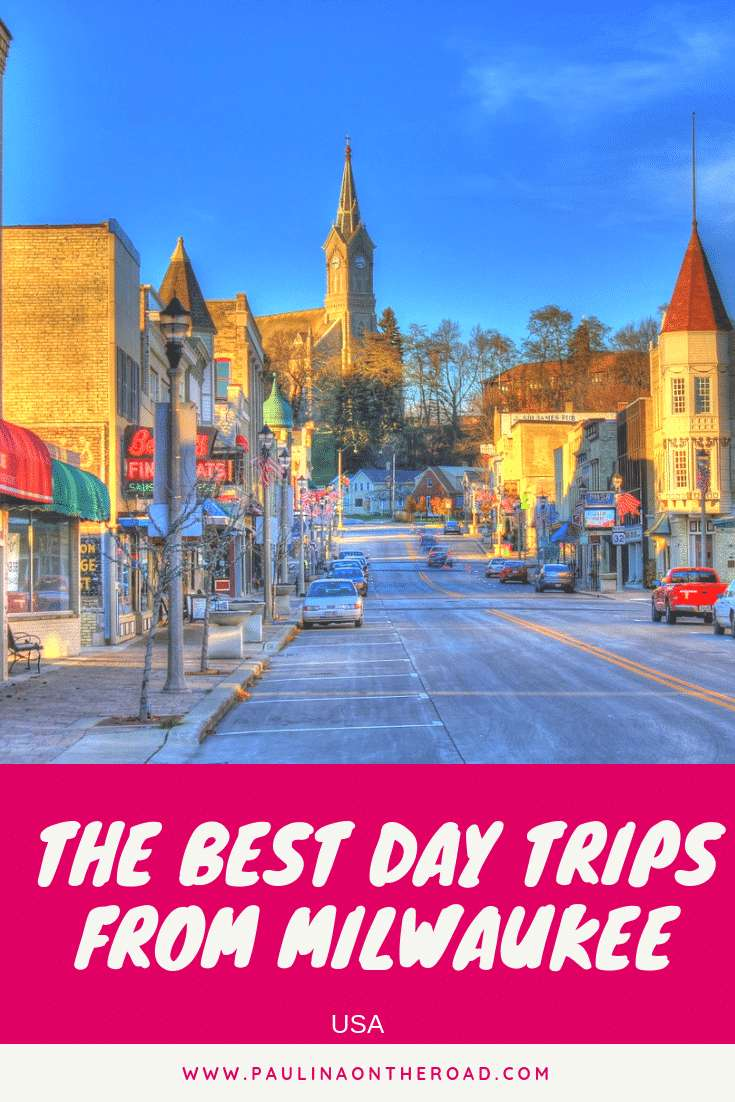 Let's go on a road trip in Wisconsin! Discover the best day trips from Milwaukee. Let's enjoy the natural beauty of Wisconsin by doing an excursion from Milwaukee, Wisconsin. This post provides a selection of the best (weekend) getaways form Milwaukee including restaurants, where to stay and hiking trails. #wisconsin #milwaukee