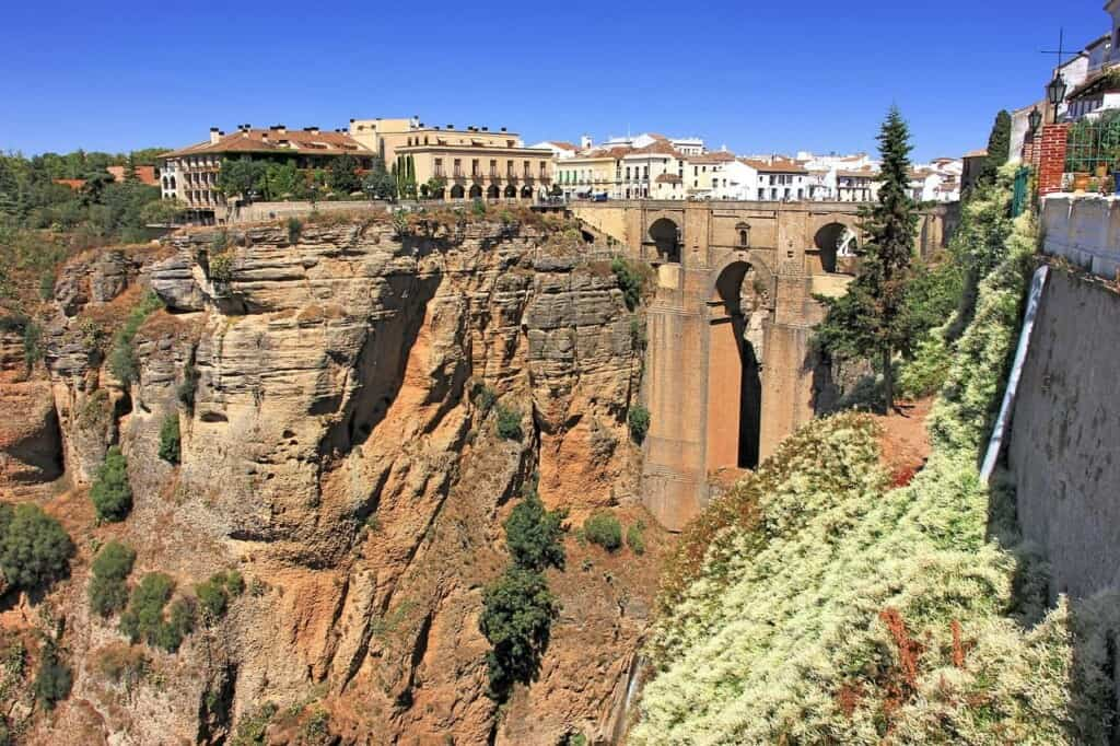 must see places near marbella spain, view of ronda gorge