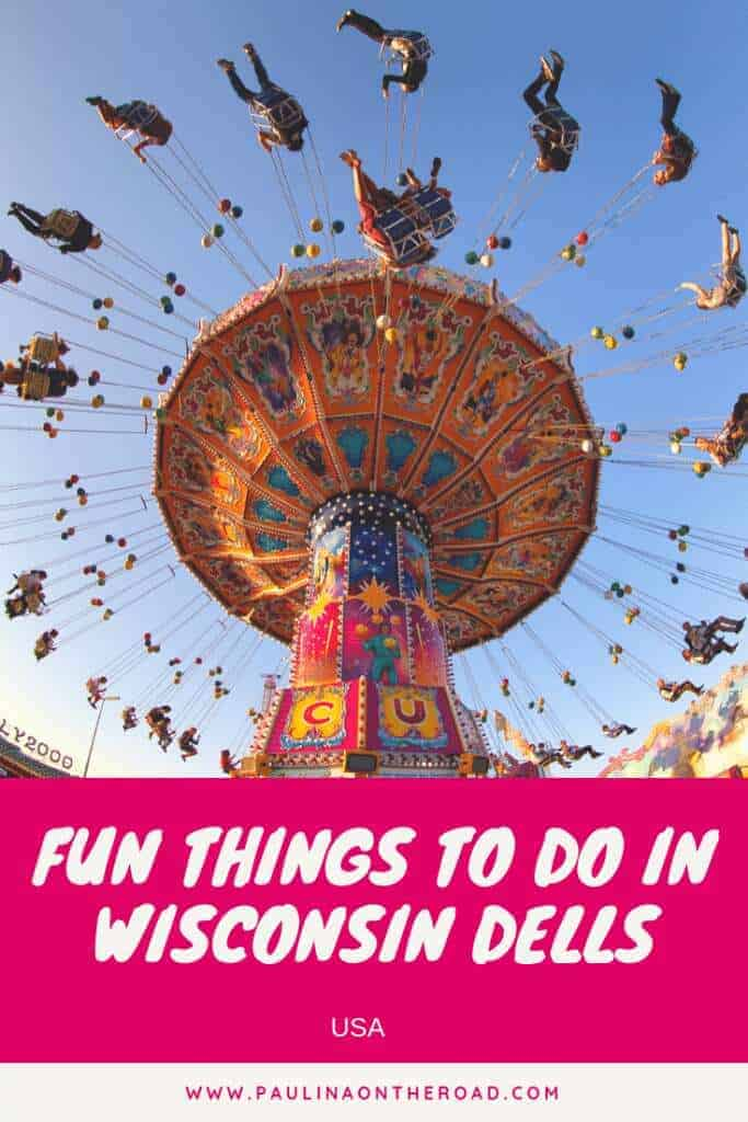 Ready to have fun? Discover the most fun things to do in Wisconsin Dells. Whether you travel with kids or as adult, there are plenty of things to do in Wisconsin Dells. Explore the best restaurants in Wisconsin Dells, things to do in winter and summer. And of course the most epic water parks. #wisconsin #wisconsindells #waterpark #weekendtrip