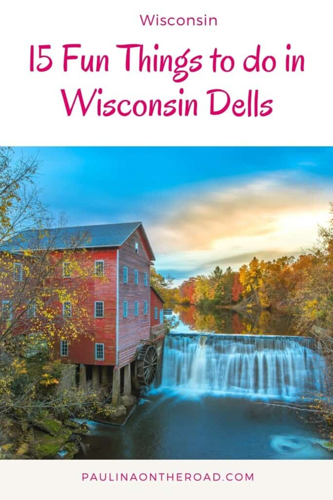 Are you wondering about things to do in Wisconsin Dells? This is the ultimate list of fun things to do in Wisconsin Dells with kids or for adults. From hiking in Wisconsin Dells, visiting an indoor waterpark, or having a romantic dinner in the best restaurants in Wisconsin Dells, this list got you covered for your getaway to Wisconsin Dells. No wonder that it's one of the most popular getaways in Wisconsin. #wisconsindells #dells #wisconsin #midwest #wisconsingetaway