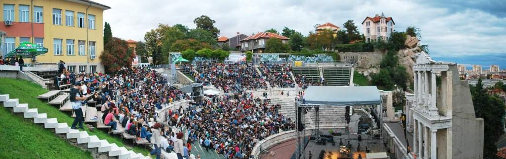 event in roman theatre plovdiv bulgaria