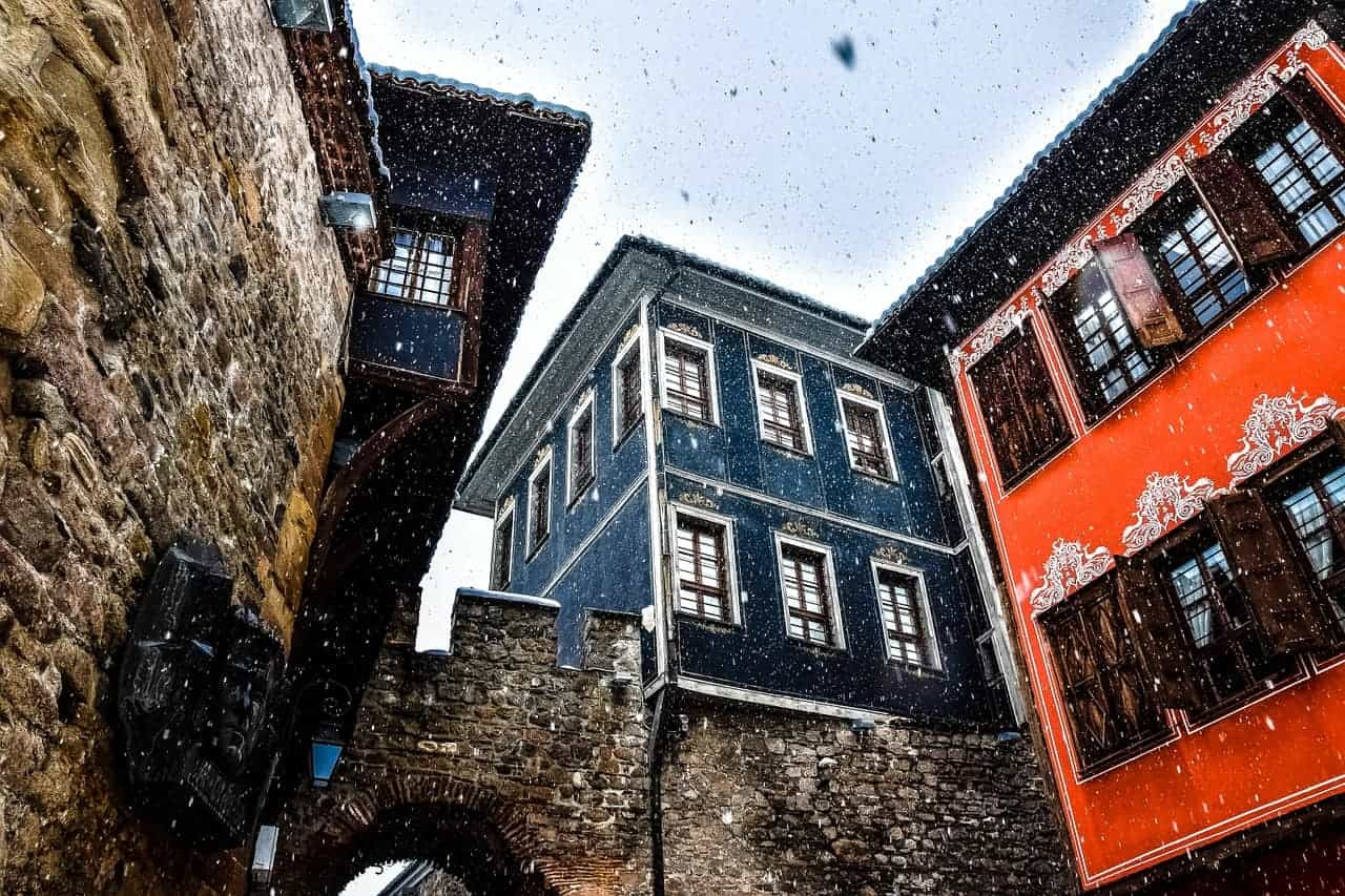 what to do in plovdiv, street in plovdiv bulgaria, travel tips