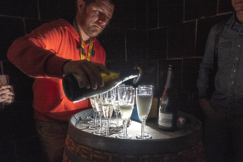 wine tour barcelona, wineries near barcelona, Cava Tasting in Ca N'Estella. clot dels oms, champagne tasting, catalonia