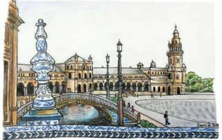 things to do in seville spain, triana, alcazar, giralda, cathedral, columbus, america, flamenco, guided tour, tapas, walking tour