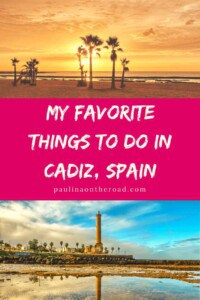 Explore the best things to do in Cadiz. Explore this beautiful town in Andalusia, Spain with its gorgeous beaches and tasty food. Explore the best places to stay and what to eat. #cadiz #spain #andalucia #andalusia