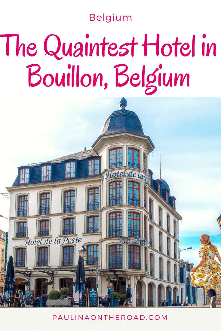 Fancy a day trip to Belgium and wonder where to stay? Let me take you to Bouillon in the Belgian Ardennes, a paradise for hikers and outdoor lovers. Get pampered during your weekend trip to Belgium in Hotel de la Poste. #belgium #bouillon #ardennes #wallonia