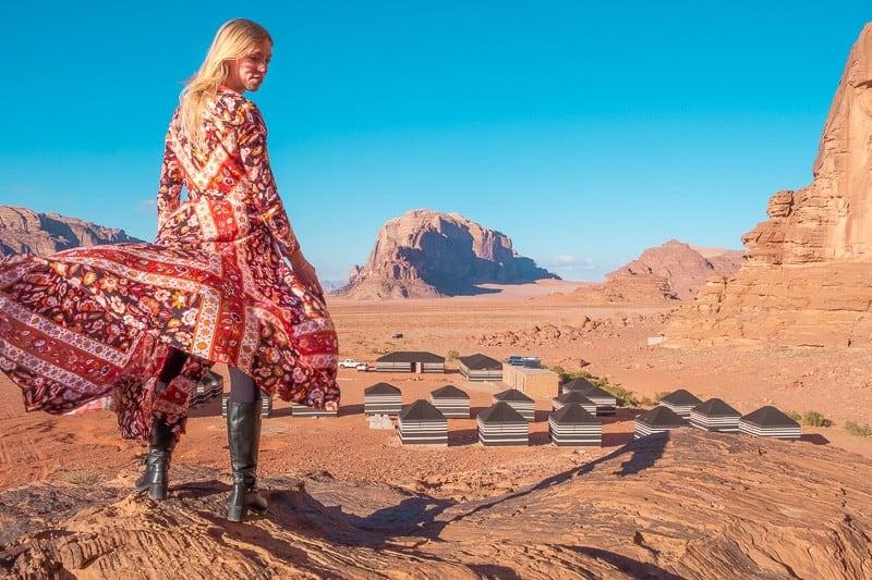 wadi rum desert camp, bedouin jordan