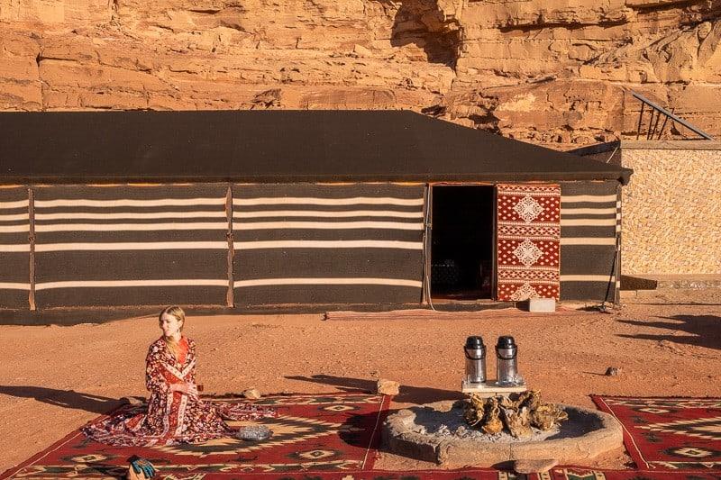 Tea Time, wadi rum best camp, wadi rum things to see