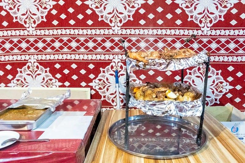 The tastiest chicken in the world!, best bedouin camp wadi rum, wadi rum sights