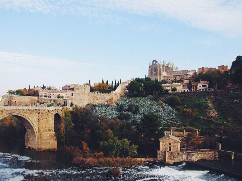 Targus River, secret places to visit in spain, spain beautiful places, toledo view