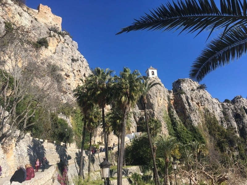 Impressive Guadalest spain locations, beautiful places to visit in spain