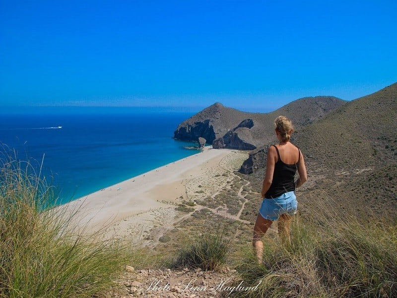 spain scenery, interesting places in spain, views on cabo de gata, spain