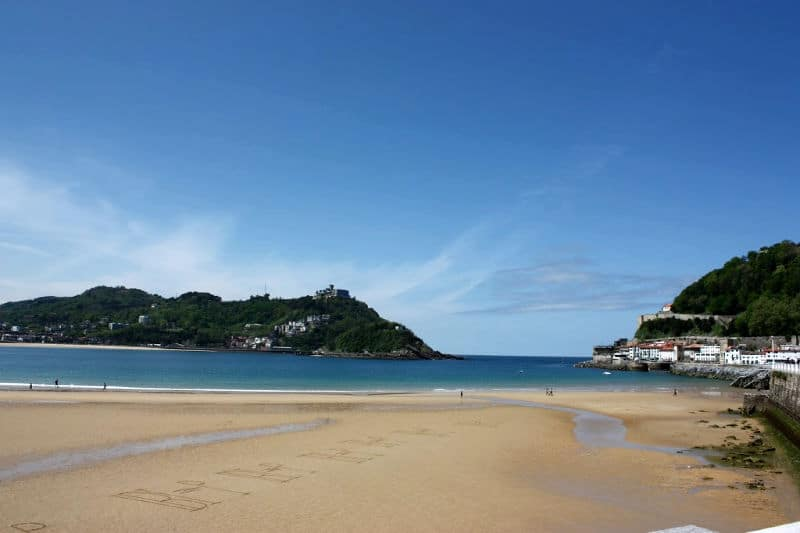 Beach of San Sebastian, spain nature destinations, nature places in spain