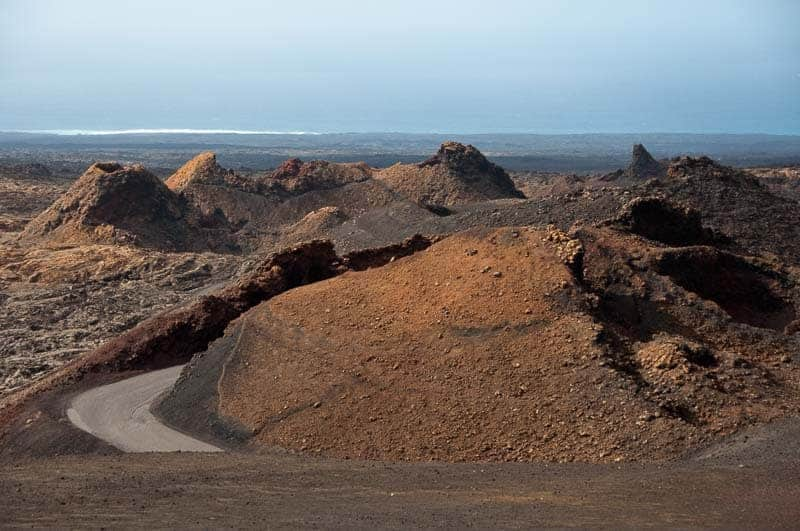 Timanfaya National Park, Lanzarote, beautiful places to go in spain, spain nature attractions