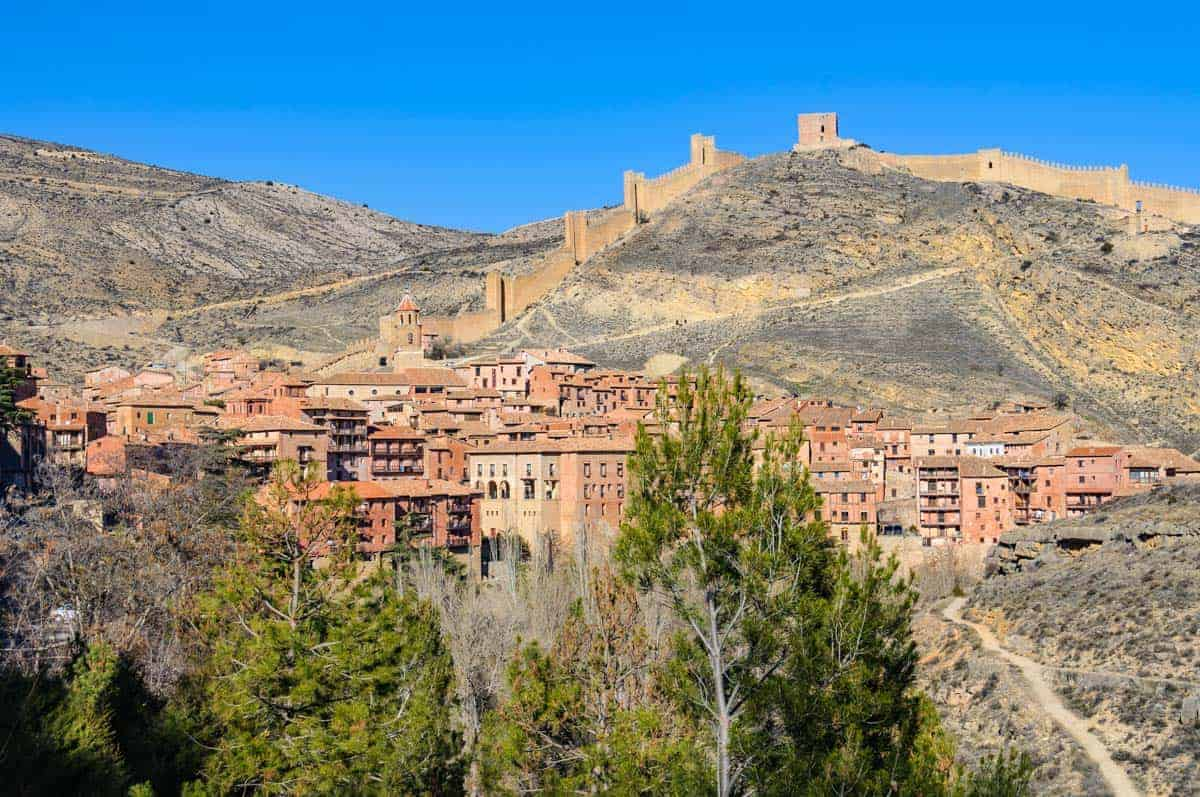 Albarracín in Aragon County, Spain, spain scenery, interesting places in spain