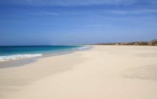 boa vista, best beaches in cape verde, cabo verde, santa monica beach