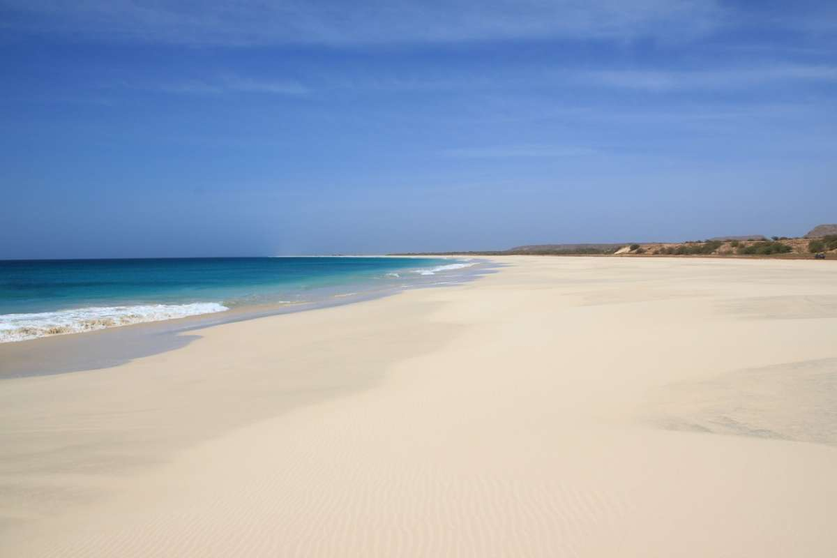 boa vista, best beaches in cape verde, cabo verde, santa monica beach