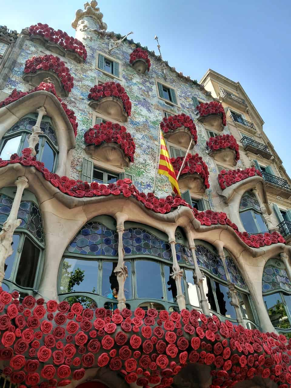 Most iconic buildings in Barcelona, Casa Batllo by Antoni Gaudi