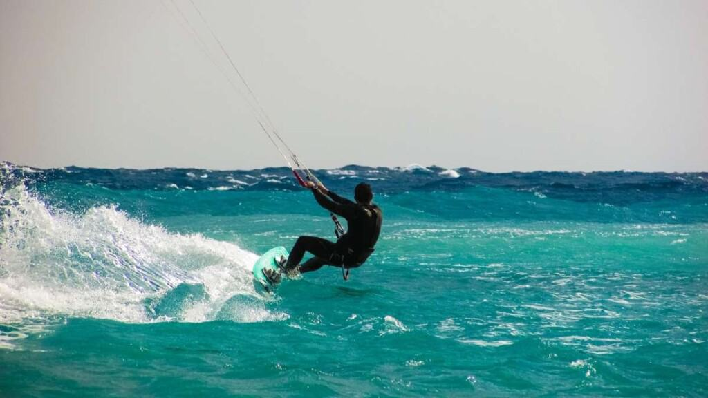 things to do in boa vista, cape verde, go kite surfing
