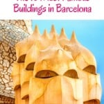 What are the most famous buildings in Barcelona? Explore a guide to the best Gaudi attractions and Gaudi Buildings in Barcelona, Spain including Casa Battlo, Sagrada Familia and many more Gaudi architecture. Let's explore! #barcelona #spain #gaudiarchitecture #gaudi
