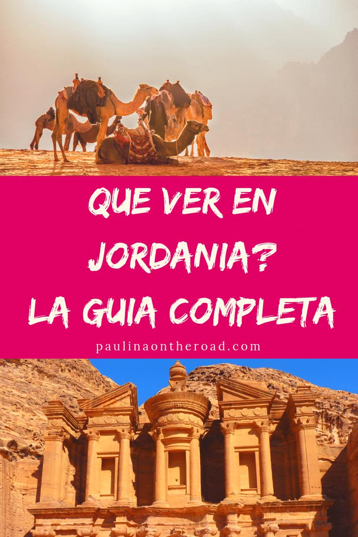 Que ver en Jordania? Esta guía completa te da toda la informacion para tu viaje a Jordania incl. visitar la ciudad de Petra, Amman, el desierto de Wadi RUm y los mejores hoteles del Mar Muerto. Descúbrelo todo! #jordania #mediooriente #ciudadpetra #petra