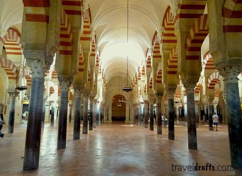 unique places in spain, most beautiful places to live in spain, cathedral of cordoba