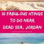 What To Do Near Dead Sea in Jordan? This Guide will give you a full range of things to do in Dead Sea, Jordan incl. the best Dead Sea Jordan resorts, Dead Sea spa treatments & Dead Sea salt scrubs, hikes, day tours and luxury experiences. #deadsea #jordan #deadsearesorts #deadseamud #deadseajordanhotels #visitjordan #visitdeadsea #deadseajordan #deadseamud #traveljordan