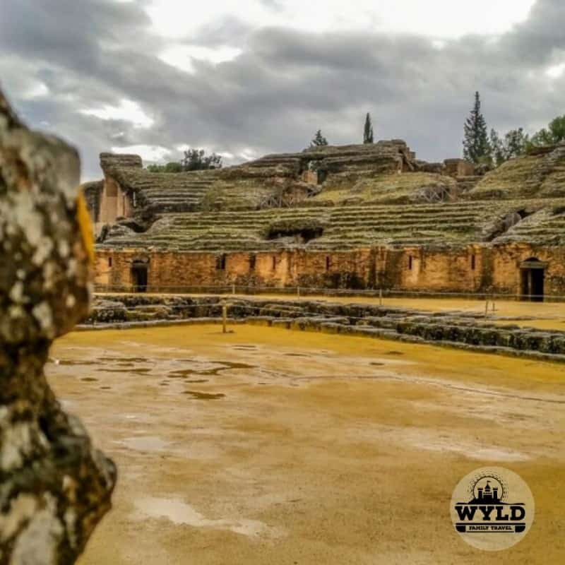 secret places to visit in spain, spain beautiful places, italica ruins in seville