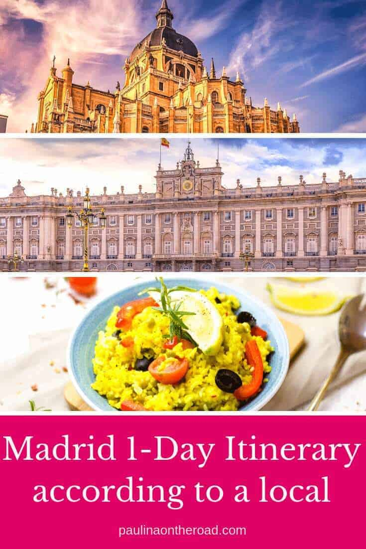How to spend 24 hours in Madrid, Spain? A 1 Day Itinerary Madrid by a local including the best things to do in Madrid in one day incl. food, shopping and the best museums. #visitmadrid #madrid #spain #citytrip
