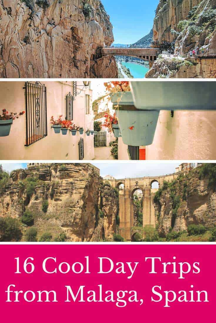 Wondering what are the best day trips from Malaga? Be ready to explore beautiful white, Andalusian villages like Frigiliana, Nerja or Mijas, but also day tours from Malaga to Seville, Malaga to Granada or Cordoba. Let's explore! #spain #andalucia #malaga