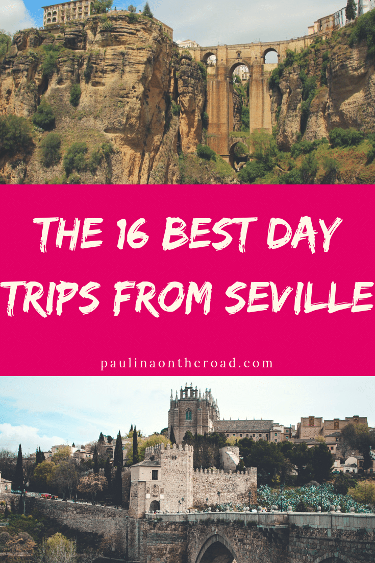 Discover the best day trips from Seville, Spain! There are so many things to do near Seville that you can easily do day tours every day. Learn more about day tours from Seville to Granada, Cordoba and many hidden gems. #seville #spain #andalucia #andalusia #whitevillages