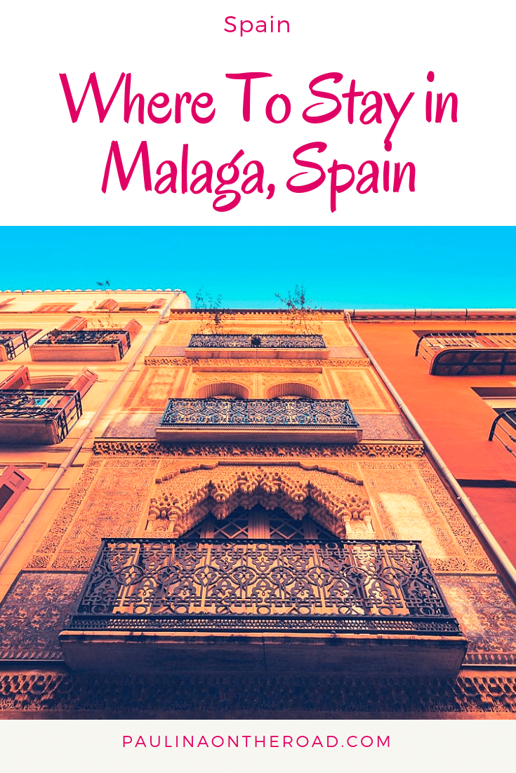What are the best hotels in Malaga? You wonder where to stay in Malaga? This guide brings you th e best hotels, resorts, hostels and boutique hotels in Malaga according to your holiday pans in Malaga, Spain. #malaga #malagaspain #malagabeaches #andalucia
