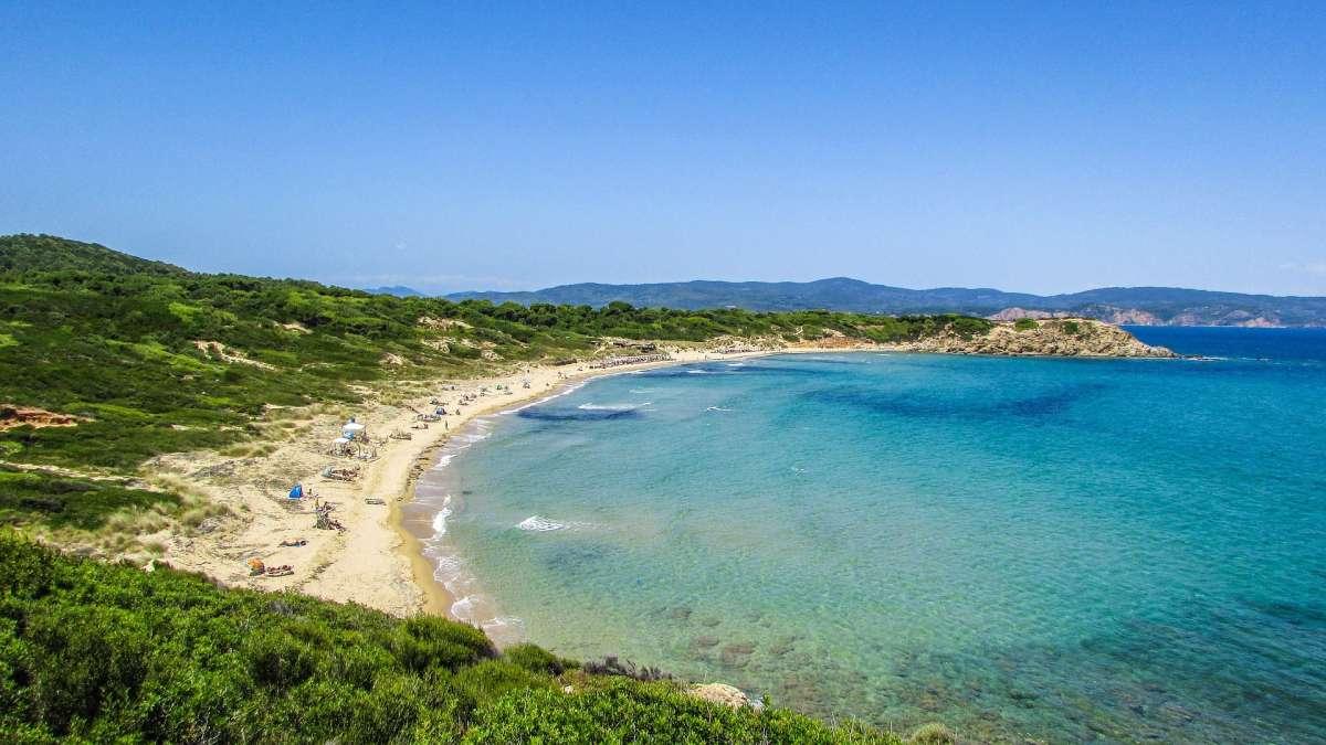 best beaches on skiathos, skiathos beaches, beautiful beaches greece, skiathos beach, watersports