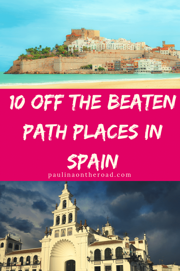 You are looking for off the beaten track Spain places? Explore some of the best hidden gems in Spain incl. fishing villages, cute towns and natural landscapes. You'll fall in love with these off the beaten path Spain attractions! #spain #hiddengems #europetravel #offthebeatenpath #offthebeatentrack