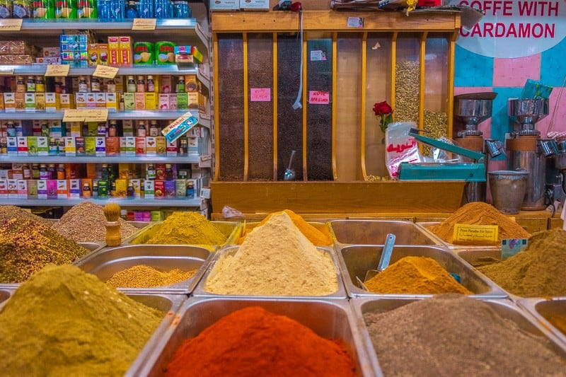 things to do in amman, jordan, a spice shop