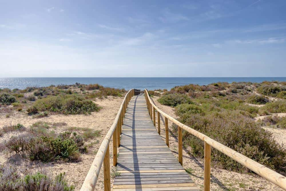 warmest beaches in spain, Playa Punta de Umbria, Cadiz