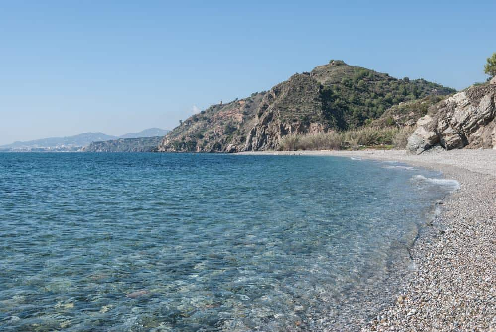 best beaches in southern spain to relax, maro beach in malaga