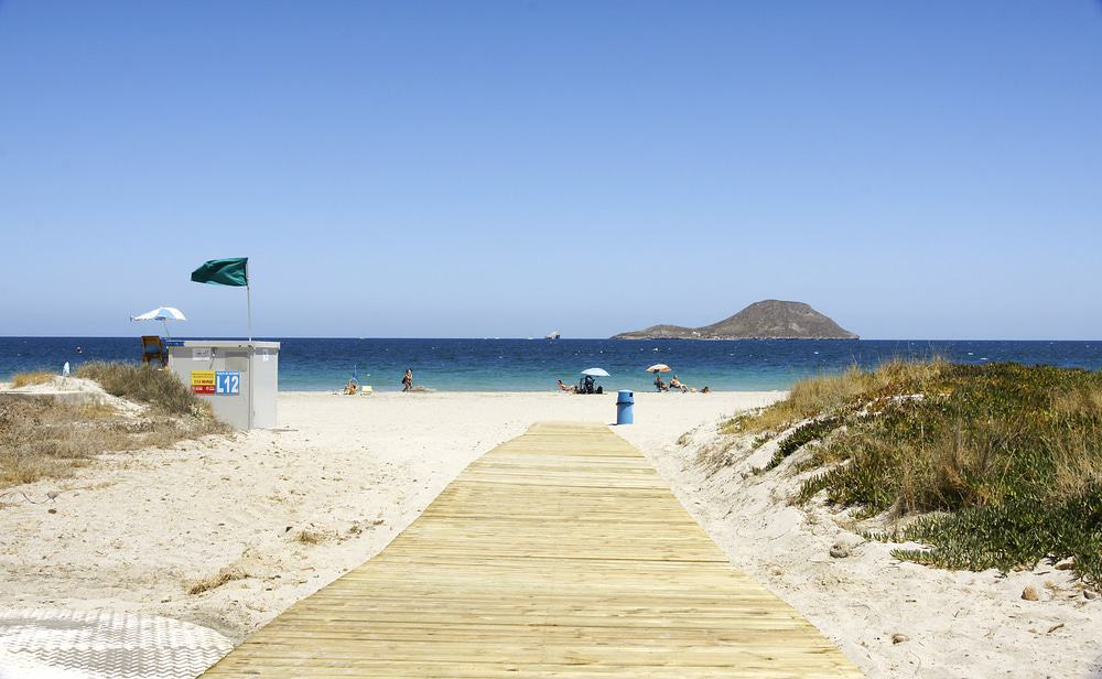 la manga beach murcia, best beaches in southern spain
