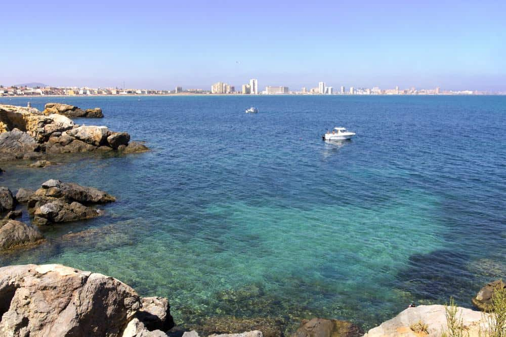best beaches in andalucia spain, cartagena and murcia