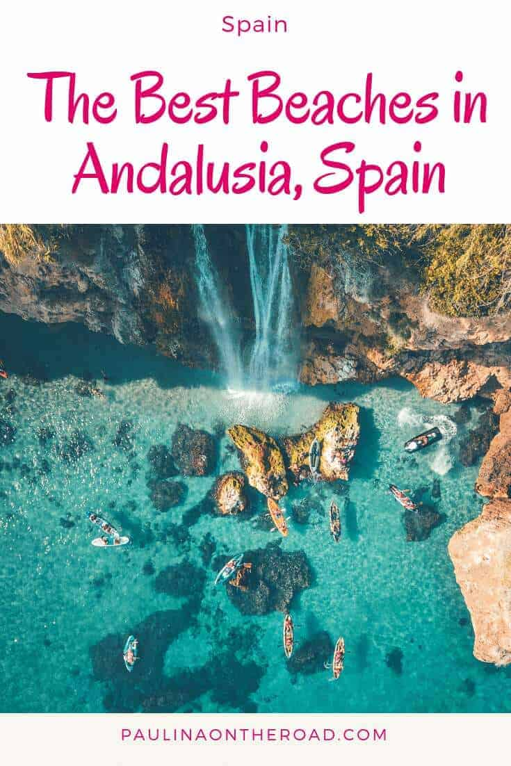 What are the best beaches in Southern Spain? This guide takes you to the best beaches in Andalusia whether you are a surfer, a nature lover or beach party animal. Let's hit the beach! #andalusia #beach #bestbeaches #europe #southernspain