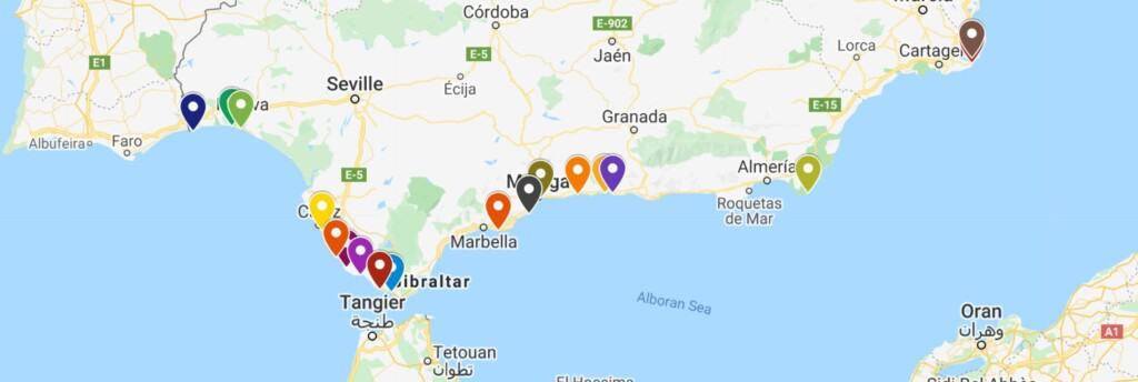 best beaches in southern spain andalucia