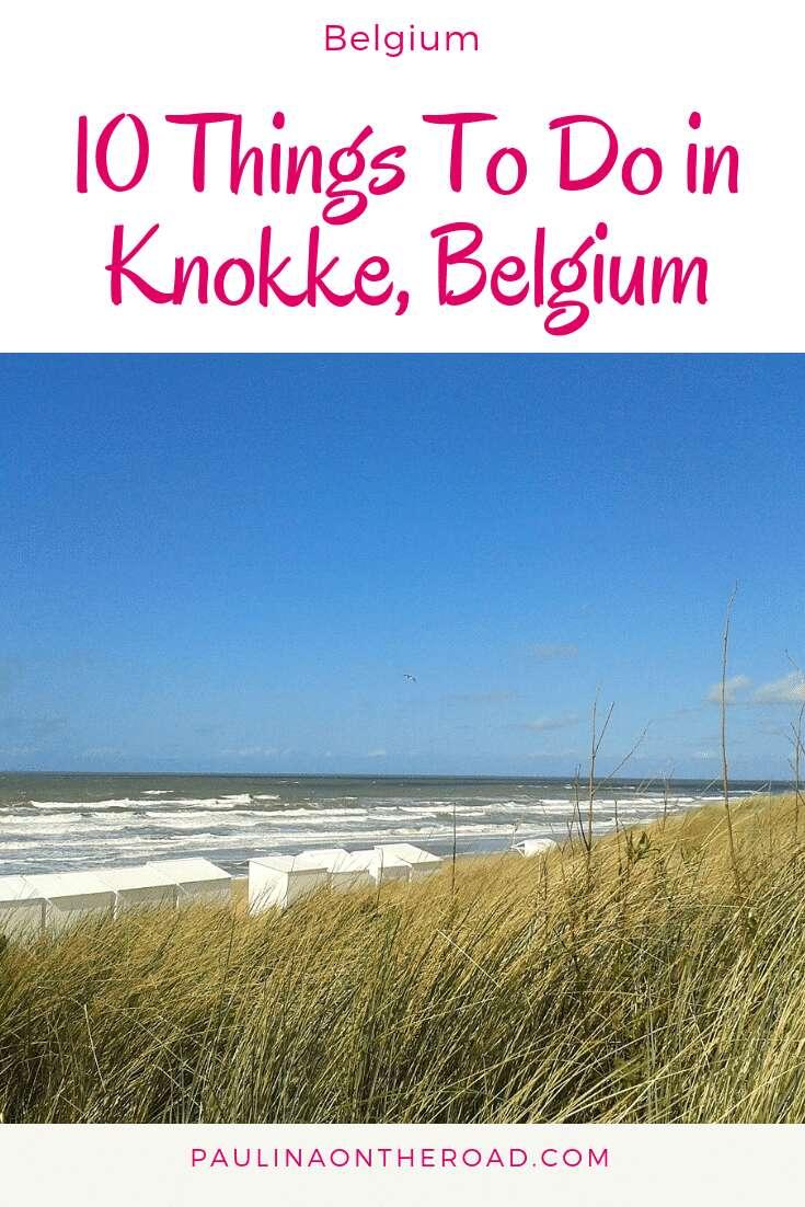 Lets explore the coolest things to do in Knokke Beach, Belgium! Knokke Heist, Belgium is the fanciest beach resort at the Belgian coast. Explore the best restaurants, where to shop and the best beaches on the Belgian seaside. #belgium #visitbelgium #knokke #knokkeheist