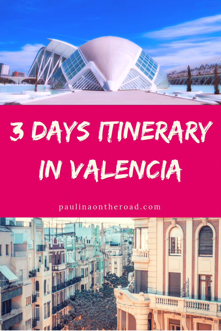 Wondering how to spend 3 days in Valencia? This 3 Day Valencia Itinerary will provide you with the best things to do in Valencia, where to eat and what to see in Valencia. You'll fall in love! #valencia #valenciaspain #valenciaguide