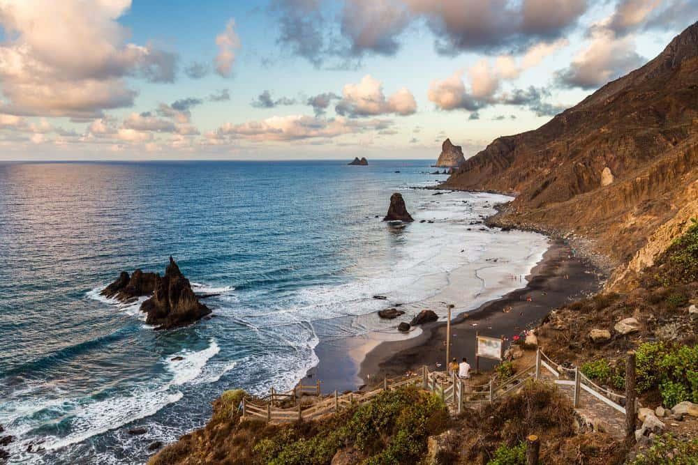 best areas to stay in tenerife, benijo beach