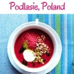 Are you looking for traditional Polish food from Podlasie region? This post give the food you must eat when traveling to Poland and Polish recipes. Authentic Polish Food for the foodie in you! #poland #polishfood #polishrecipes #polishfoodtraditional